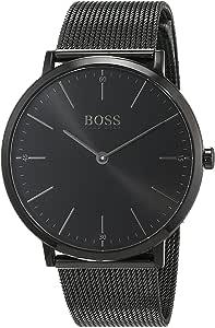 Hugo Boss Orologio Analogico Quarzo Uomo con Cinturino in Acciaio Inox 1513542