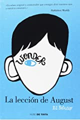 La Leccion de August = The Lesson of August Paperback