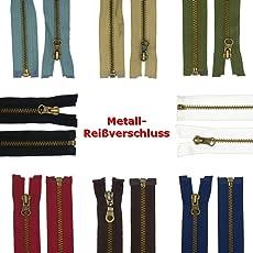Reißverschluss Metall 5mm teilbar