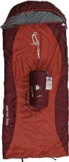 10T Kinderschlafsack PARROT 180x75 XL Deckenschlafsack 300g/m² Papagei Schlafsack orange / Rot