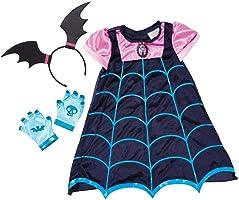 Disney Junior 78185/78186 Vampirina Boo-tiful Dress - Vestido con alas de murciélago y diadema