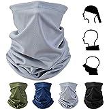 CNXUS Bandanas Multifuncionales Elásticas, 4 Piezas Elastica Pañuelos Cabeza Bufanda Pañuelo Multifuncional Estirable Cuello