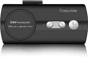 Carpuride Hands Free Kit For Car Power On Car Bluetooth Elektronik