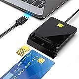 Rocketek Lettore di Smart Card USB Dod Adattatore Card CAC ad Accesso pubblico Militare/Carta d'identità/Carta di Chip IC Ban