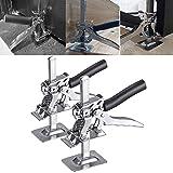 PEALOV Handheld Jack Tool,Jack All-Steel Keramische Tegel Hoogte Aanpassing Lifting Device,Ondersteuning Arm Labor-Saving Arm