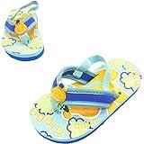 Dream Bridge Summer Sandals, Unisex Kids'Flip Flops with Adorable Cartoon Design Beach Shoes Suitable for Indoor Outdoor Pare