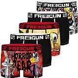 Freegun Bóxer para Niños - Looney Tunes Tweety et Bugs Bunny (5 unidades)