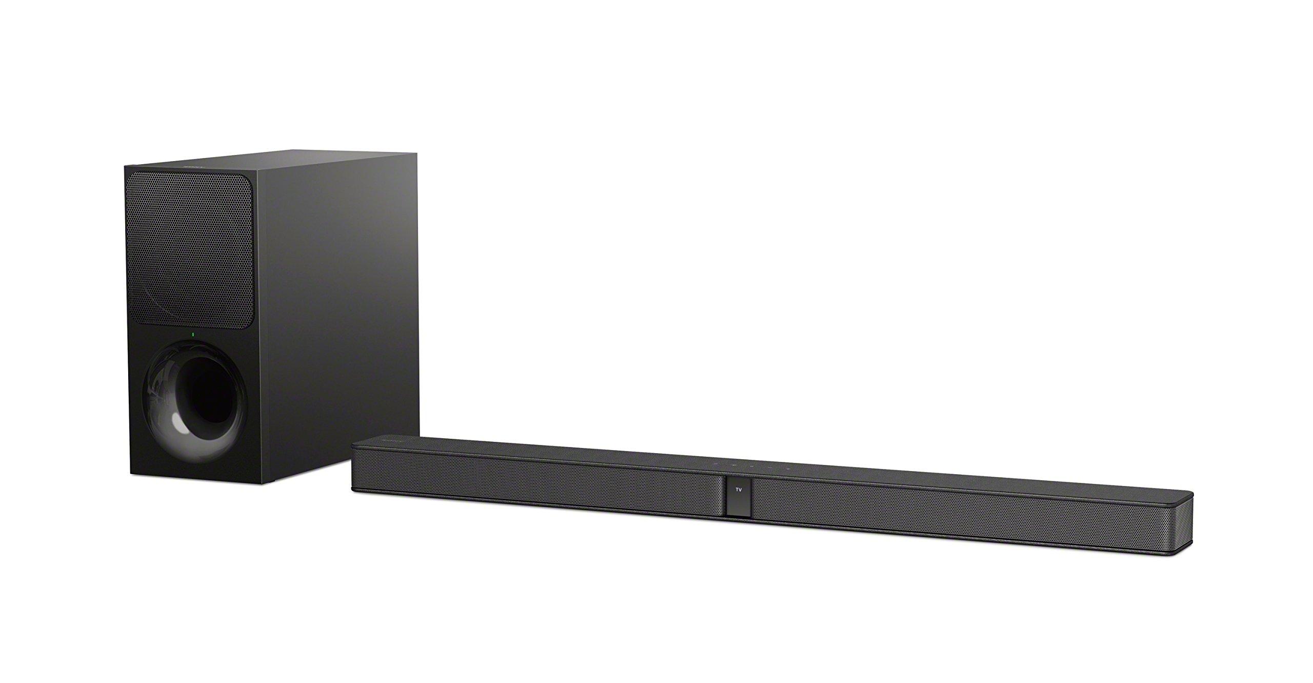 Sony HTCT290.CEK 300 W Soundbar with Bluetooth, HDMI and Wireless Subwoofer – Black