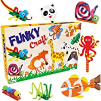 Prime Do It Yourself Art & Craft Game Set - Funky Craft & Puppet for Kids 5 Years and Above (Multicolour, Pack of 1)