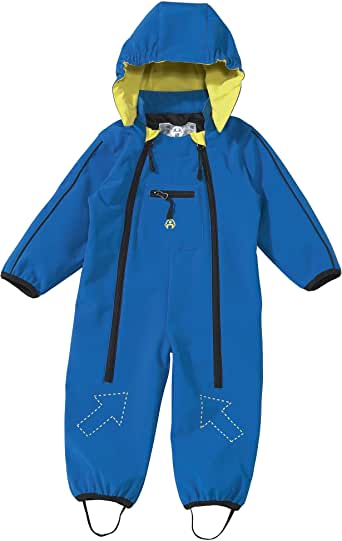 baby-walz Softshell-Anzug, Groesse 74/80, blau: Amazon.de