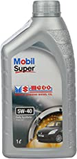 Mobil Super MGDO 5W-40 API SM/SL Fully Synthetic Diesel Oil for Cars (1 L)