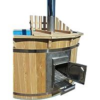 hottub Zuber de bain avec poêle pour sauna Sauna Jardin Bain Tonneau neuf 180cm
