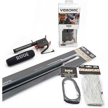 Rode NTG2 Microfono Direzionale a Condensatore per Riprese Esterne ... 31bcc363863d