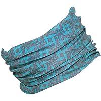 HILLTOP motorcycle neckerchief, multifunctional scarf, tubular scarf, bandana, shawl, edges of the hem are sewn, for men…