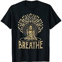 Breathe Buddha T-Shirt Gift Idea Yoga and Meditation T-Shirt