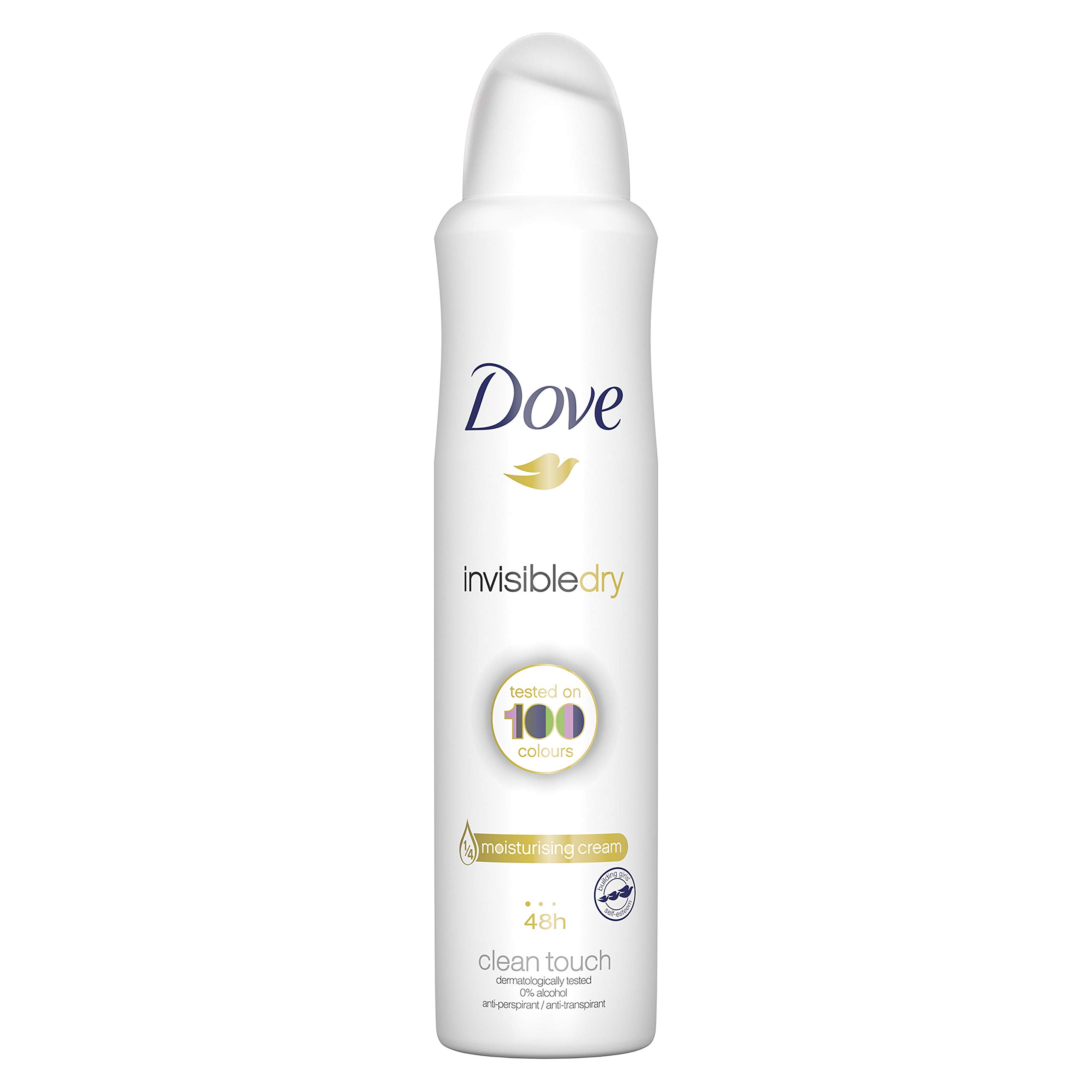 Dove Invisible Dry 48h Anti-Perspirant Deodorant, 250ml