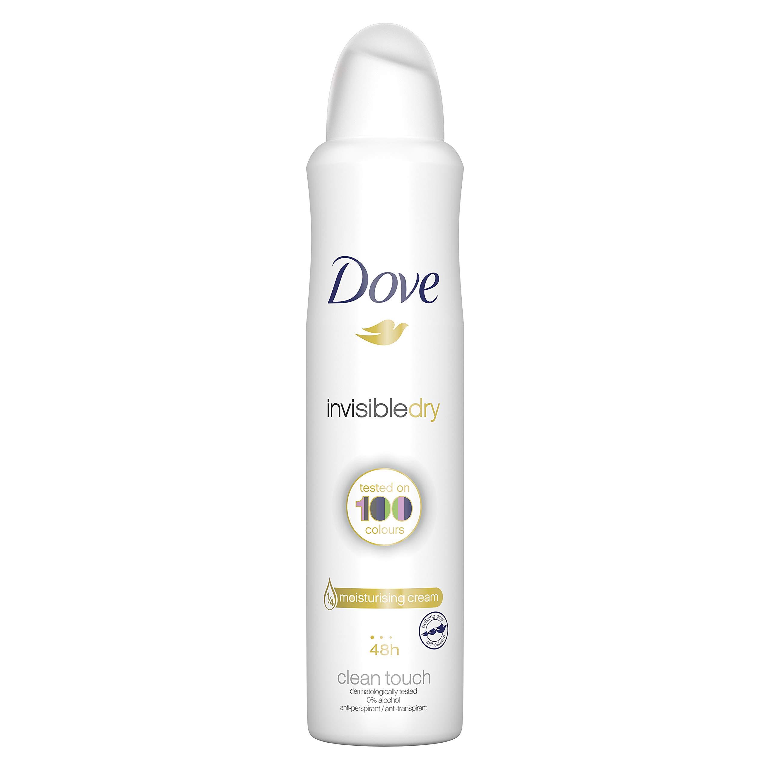 Dove Invisible Dry 48h Anti-Perspirant Deodorant, 250ml