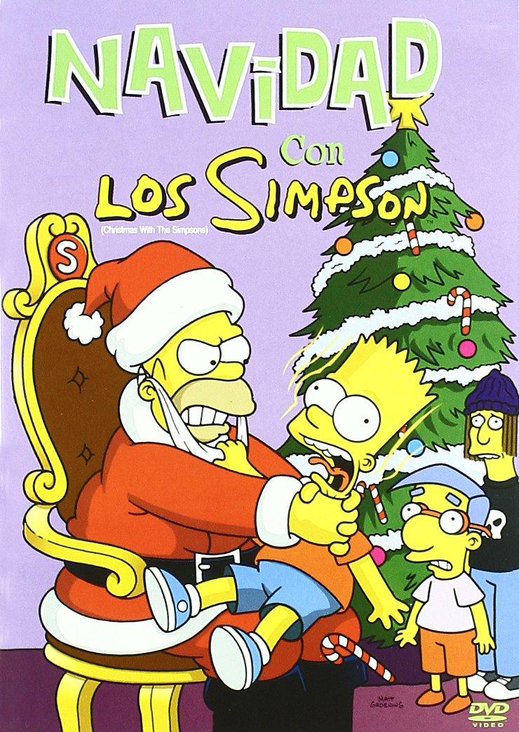 71alnvzP oL - Navidad Con Los Simpson [DVD]