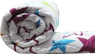Style Seven Micro Cotton Single Bed Reversible Comforter  Dohar  Blanket  Duvet, Color Fastness Guarantee 200 GSM