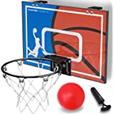 Crochets de Suspension int/égr/és AUTENS Panneau de Basket /à Fixer sur Une Porte pour l/'int/érieur Dimensions 30 x 40 cm 2 Ballons