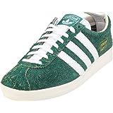 adidas Originals Gazelle Vintage, Collegiate Green-Footwear White-off White
