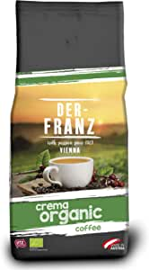 Der Franz, caffè Crema UTZ, macinato, biologico, 1000 g