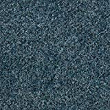 Kunstrasen Rasenteppich mit Noppen | Höhe ca. 7,5mm | 133, 200 und 400 cm Breite | blau | Meterware, verschiedene Größen | Größe: 3,5 x 4 m