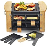 Kitchen chef - kcwood.4rp - Appareil … raclette 4 personnes 650w + grill