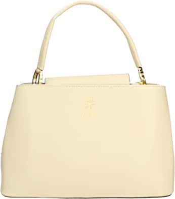 Chicca Borse Borsa a Mano Donna in Pelle Made in Italy 30x20x14 Cm