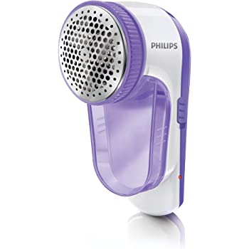 Philips GC027 / 00 Electric Lint Remover Battery CAN be charged via USB, brush with Lint-Lilac