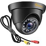Anlapus 1080P Caméra de Surveillance Extérieure IP66 20M Vision Nocturne, Objectif de 3.6mm, 4-en-1 Caméra pour Kit Vidéo Sur