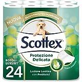 Scottex Scottex Carta Igienica Protezione Delicata, Confezione Da 24 Rotoli Maxi - 2310 g