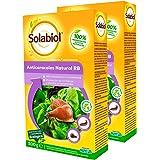 Solabiol Anticaracoles Natural Rb, Protección Contra Caracoles y Babosas, Verde Agua, 4.40 x 10.5 x 18 cm, 500 Gramos, Pack d