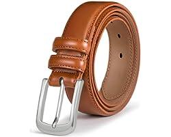 Mens Belt, Bulliant Genuine Leather Belt for Men's Dress Jeans Golf Belt