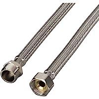 Xavax Rallonge flexible d'arrivée d'eau renforcée (pour tuyau d'entrée lave-linge et lave-vaisselle, tuyau d'arrivée de…