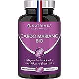 Cardo Mariano 100% Orgánico   900mg Por Día Detox y Protección Hígado Antioxidante Facilita Digestión   120 Cápsulas Veganas