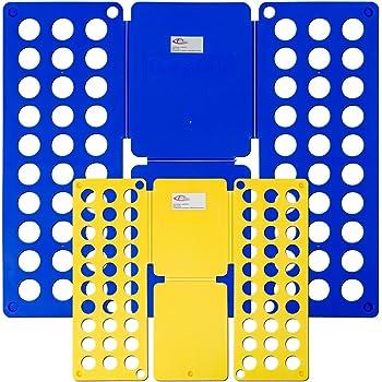TecTake 2 PLANCHE A PLIER PLIEUR DE LINGE PLIAGE VETEMENTS LINGE DE LIT  ADULTE ENFANTS - diverses quantités - (1 Set   no. 401684) a8186bc6213