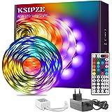 Ksipze Striscia LED 7.5M RGB Cambiamento di Colore 5050 Luci LED Flessibili con Telecomando IR a 44 Tasti e Scatola di Contro