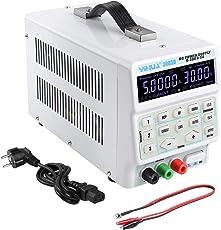 MVPower Labornetzgerät, Labornetzteil, Regelbar 0-30V / 0-5A DC Stabilisiertes Schaltnetzteil mit hochauflösender Digitalanzeige