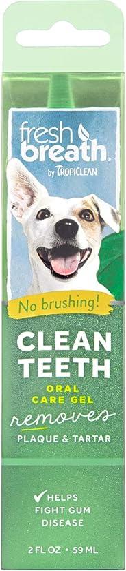 Tropiclean Fresh Breath Clean Teeth Oral Gel, 59 ml