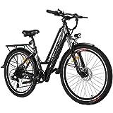 Tooluck E-Bike Bici Elettrica, Bicicletta Elettrica da 26 Pollici 250W City Bike con Batteria al Litio 36V 8AH…