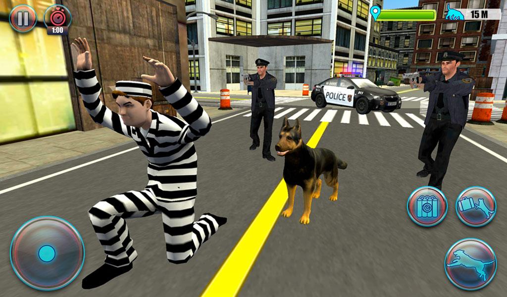 NY City Police Dog Simulator 3D: Amazon co uk: Appstore for