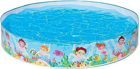 Intex My Beach Day Snapset Pool, Multi Color (1.52mx25cm)