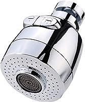 SODIAL 360 Grados Rotativo Aireador Aireador De Grifo De Ahorro De Agua para Cocina Aireador De Grifo Filtro De La...