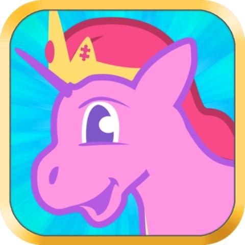 Mein Pony Spiele für Mädchen: Kleine Pony Rätsel Puzzle für Kinder und Kleinkinder, die Pferde und Prinzessinnen Einhörner Ponys lieben - Ausbildung Version