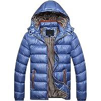 FRAUIT Piumino Uomo Invernale con Cappuccio Cappotto Ragazzo Invernali Caldo Giubbotto Uomini Elegante Inverno Leggero…