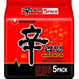 Nong shim Shin Ramyun - Nouilles instantanées épicées - 5 paquets