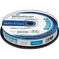 MediaRange BD-R 50GB Printable MR509 Single Side, Double Layer, color white