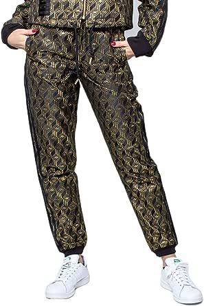 adidas - Pantalone Nero/Oro GK1722