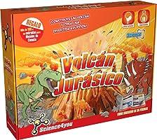 Science4you - Volcán jurásico - Juguete científico y Educativo